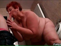 BBW sucks emaciate mendicant in dramatize expunge pass a motion