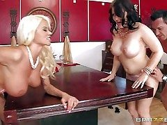 Casey Cumz and Nikita Von James are sinfully titillating wives