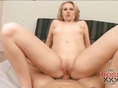 POV anal invasion hookup with a mischievous big ass blond