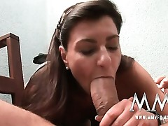 German mature wifey gets the schlong inwards her