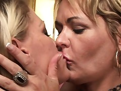 mischievous dyke cougar moms go all the way lesbian